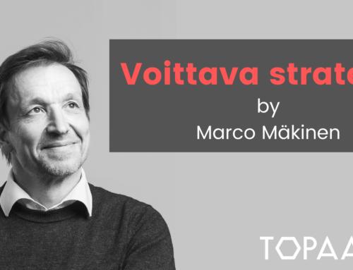 Voittava strategia – haastattelussa Marco Mäkinen