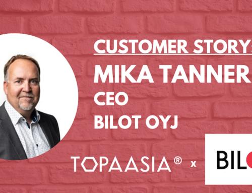 Customer story: Mika Tanner, Bilot