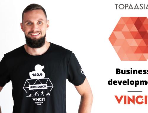 Topaasia® – Business Development. An interview with Toni Mikkola, Vincit