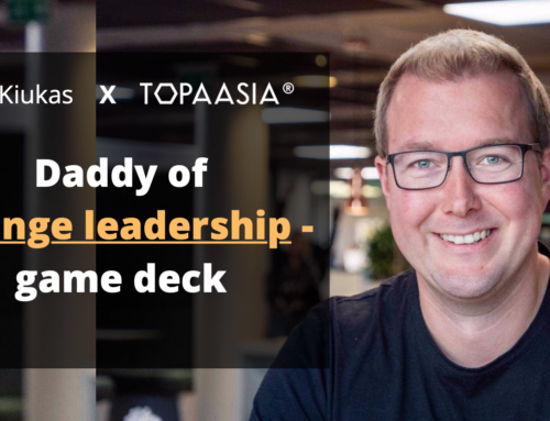 Topaasia®: Change Leadership. In the interview, the daddy of the deck, Antti Kiukas